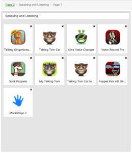 ASD Speaking and Listening Apps