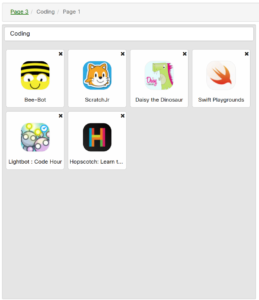 Higher Ability Coding Apps