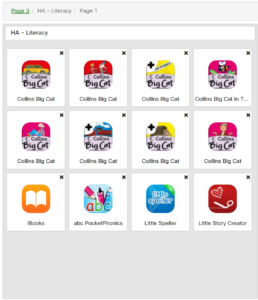 Higher Ability Literacy Apps