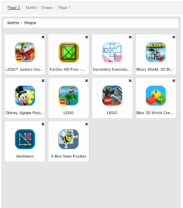 Higher Ability Shape Apps
