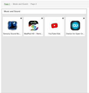 PMLD Music and Sound Apps 2
