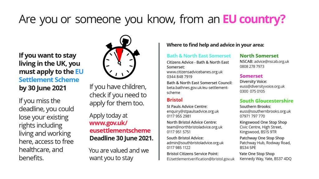 Image: Are you or someone you know, from an EU country?
